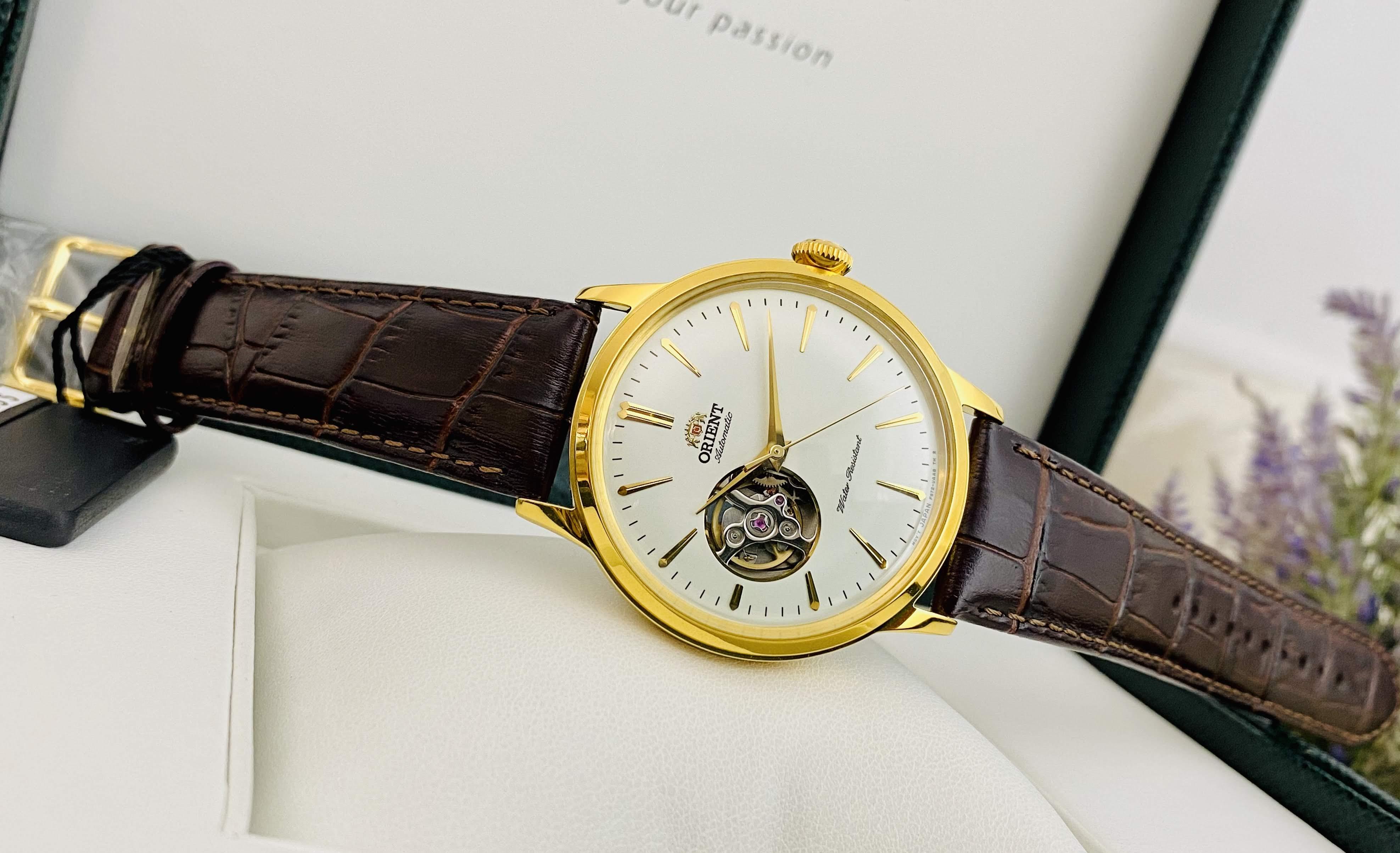 Đồng hồ Orient Bamino Open HeartRA-AG0003S