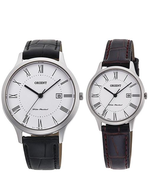 Đồng hồ đôi Orient RF-QD0008S & RF-QA0008S