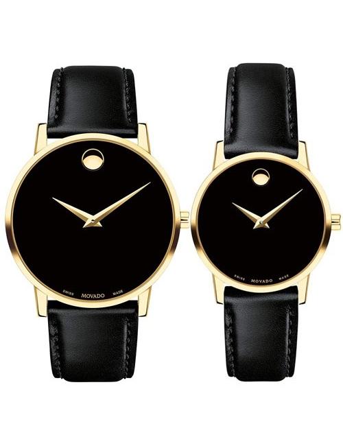 Đồng hồ đôi Movado 0607314 & 0607319